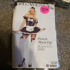 French maid halloween costume